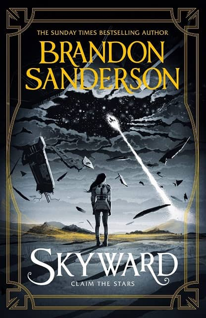 Skyward Brandon Sanderson UK-small