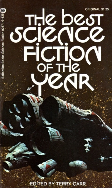 Terry Carr The Best Science Fiction of the Year 1-small