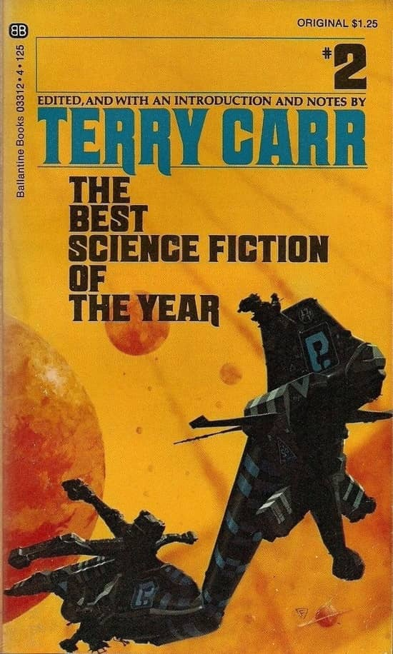 The Best Science Fiction of the Year 2 Terry Carr-small
