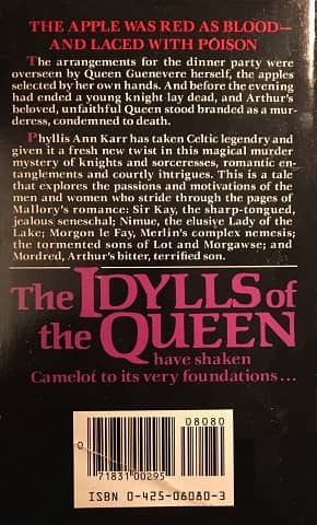 The Idylls of the Queen Phyllis Ann Karr-back-small