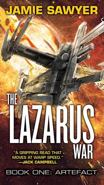 The Lazarus War Book One Artefact-small
