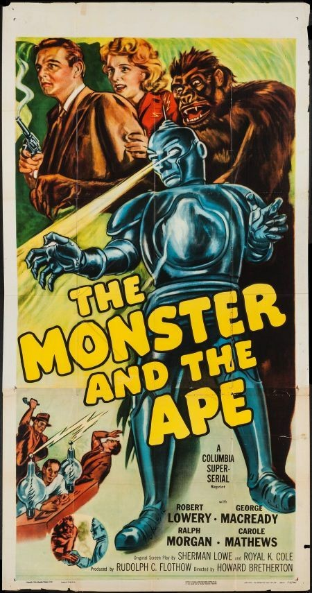 The Monster and the Ape poster1