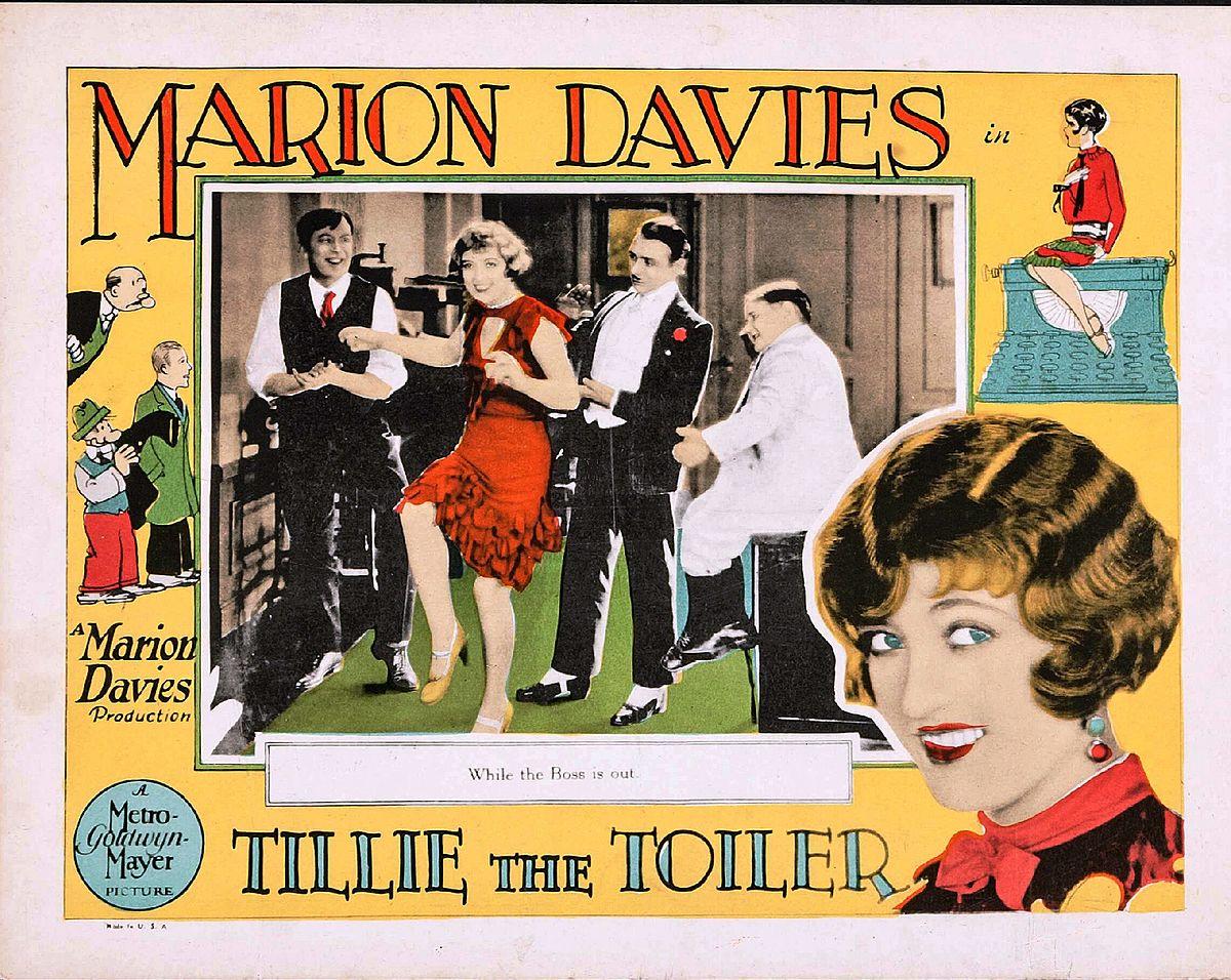 Tillie the Toiler (1927 film), starring Marion Davies