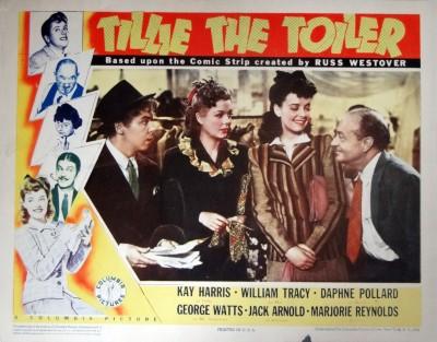 Tillie the Toiler (1941 lobby card), starring Kay Harris
