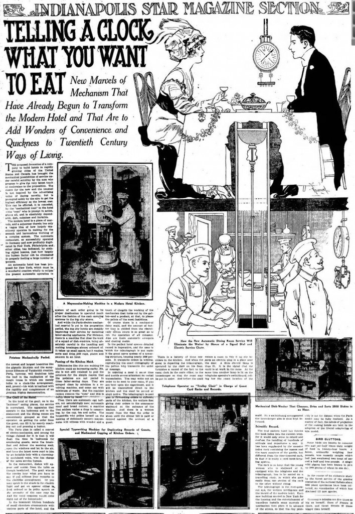 1914-02-08 Indianapolis Star 53 Telling a Clock full article