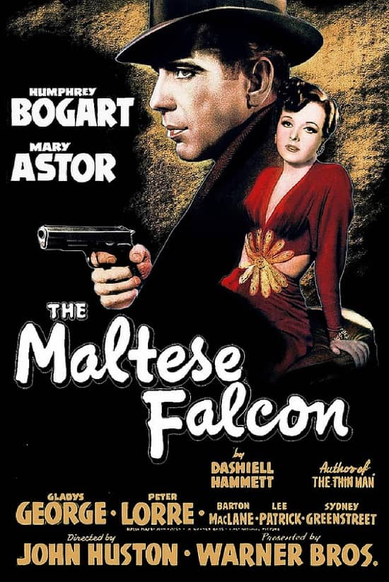 (2) The Maltese Falcon poster-small