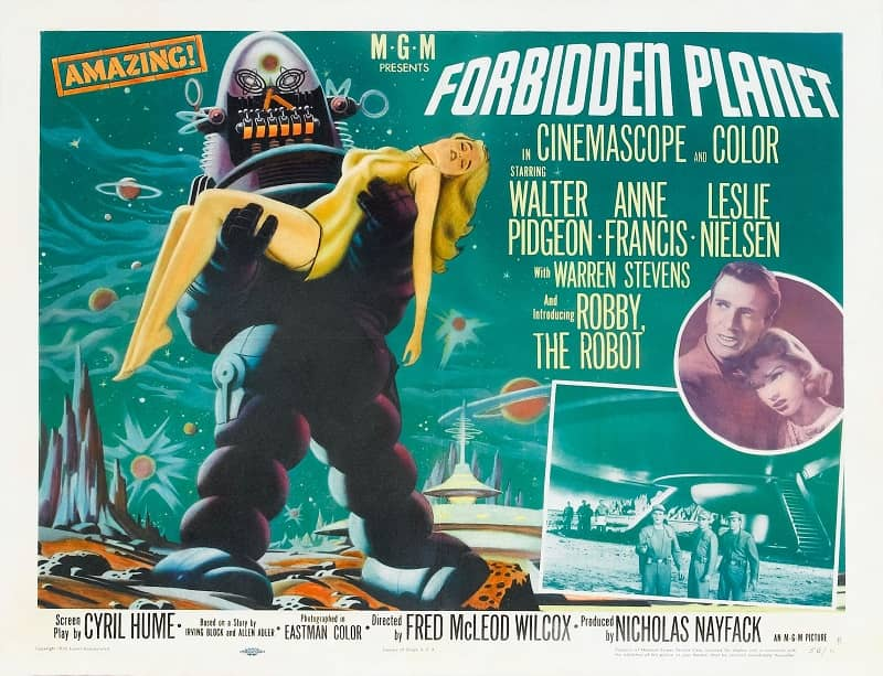 Forbidden Planet poster-small
