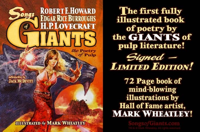 Giants The Poetry of Pulp banner