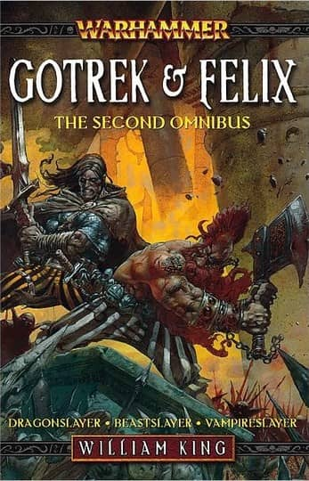 Gotrek & Felix The Second Omnibus first print-small