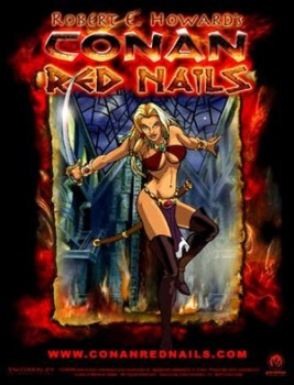 Art for the never-made animated Red Nails
