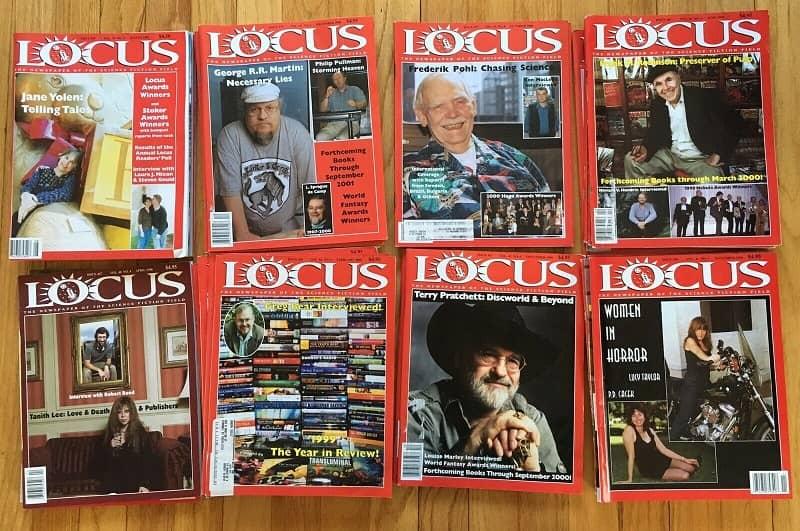Locus magazine lot-small
