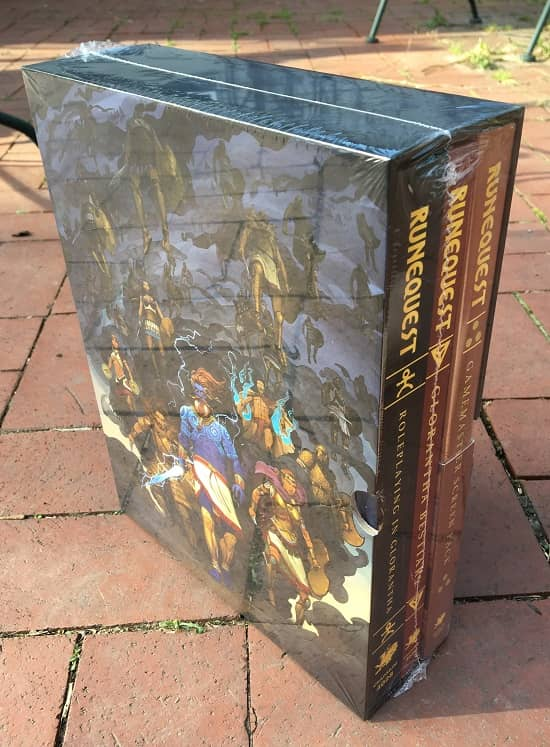 RuneQuest Roleplaying in Glorantha Slipcase-small