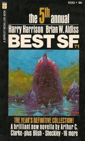 The Fifith Annual Best SF harrison aldiss 1972-small