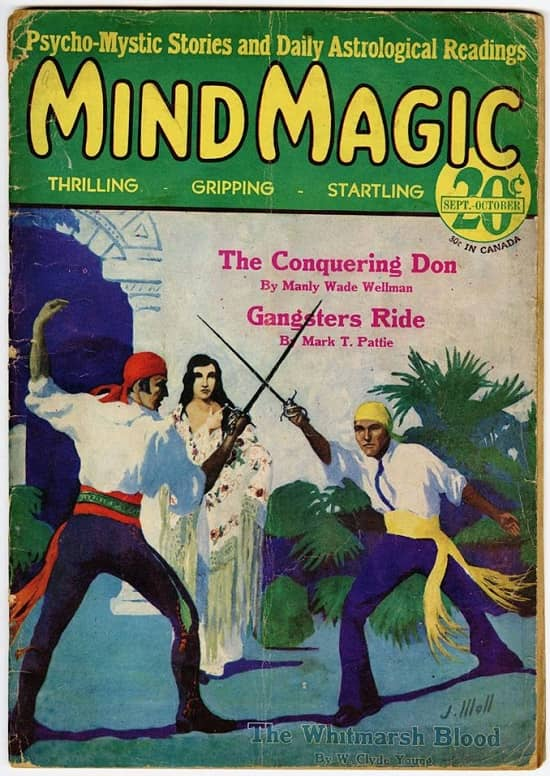Windy City Pulp and Paper auction Mind Magic pulp-small