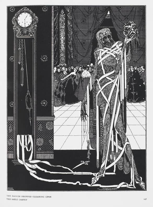 (5) The Masque of the Red Death by Harry Clarke-small