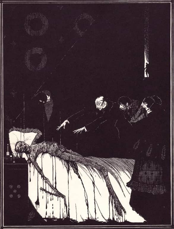 (7) M. Valdemar by Harry Clarke-small