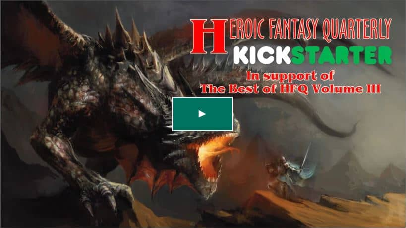 Heroic Fantasy Quarterly Kickstarter