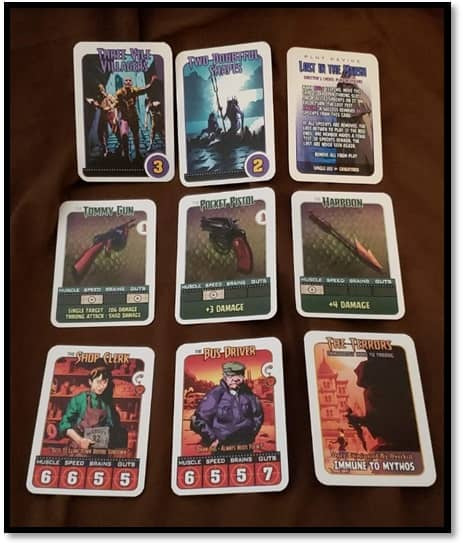 Innsmouth 32 cards
