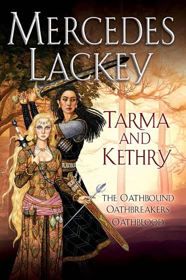 Mercedes Lackey Tarma and Kethry-small