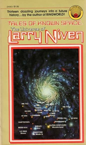 Tales of Known Space The Universe of Larry Niven-small