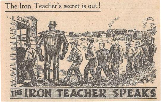 The Iron Teacher Speaks