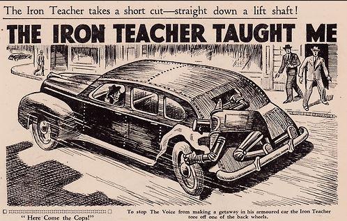 The Iron Teacher short cut