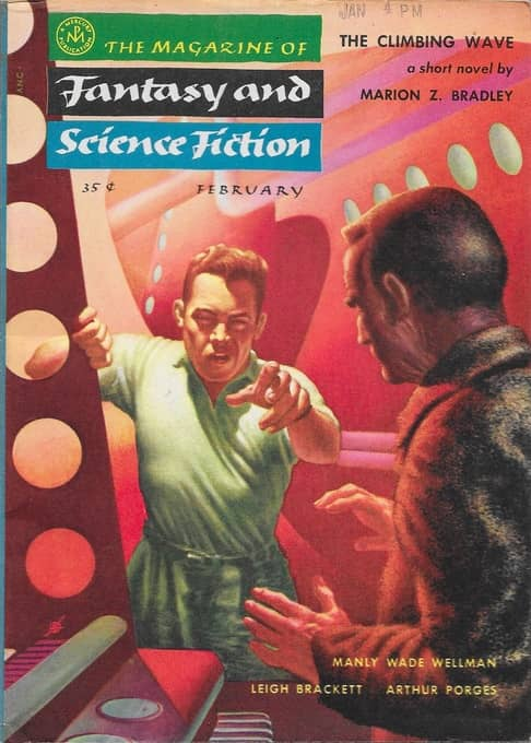 The Magazine of Fantasy and Science Fiction February 1955-small