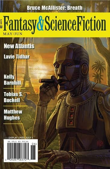 The Magazine of Fantasy and Science Fiction May June 2019-small