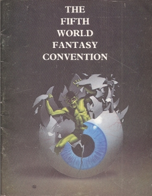 The Fifth World Fantasy Convention program book