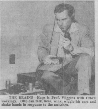 1955-02-06 Tampa Tribune 4-C Otto robot illus brains