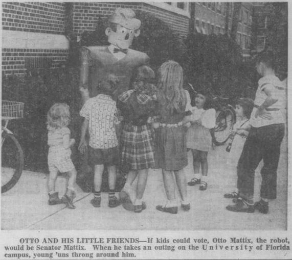 1955-02-06 Tampa Tribune 4-C Otto robot illus little friends