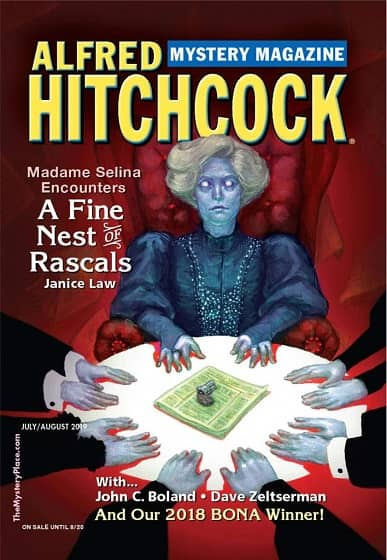 Alfred Hitchcock 's Mystery Magazine July August 2019-small