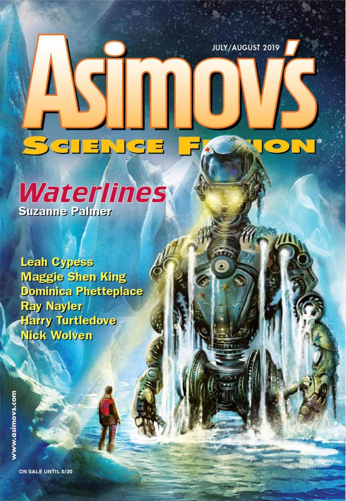 Alien Artifacts, Cosmic Mystery, and an Impossible Murder Weapon: July/August Print Magazines