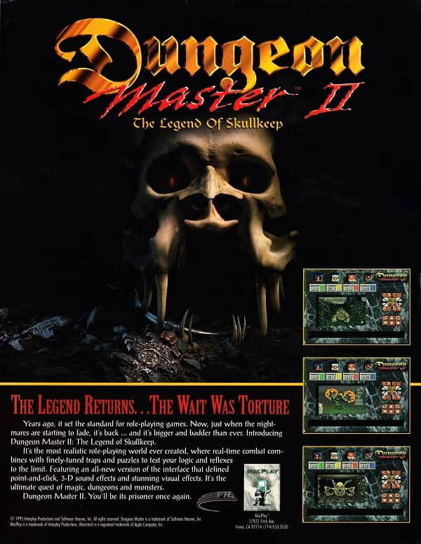 Dungeon Master II poster-small