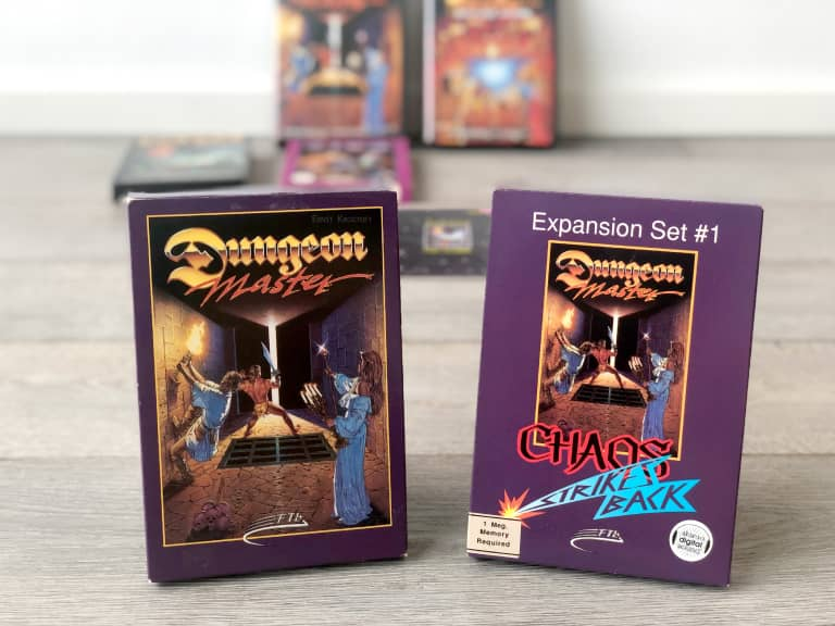 Dungeon Master and its expansion set Chaos Strikes Back