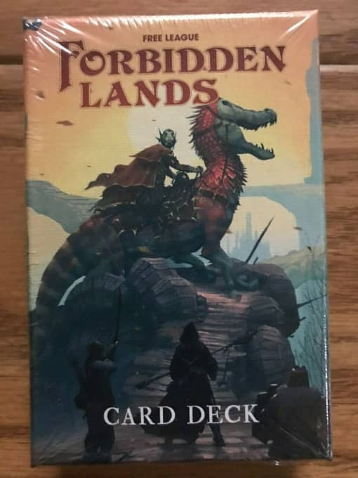 Forbidden Lands Modiphius Card Deck-small