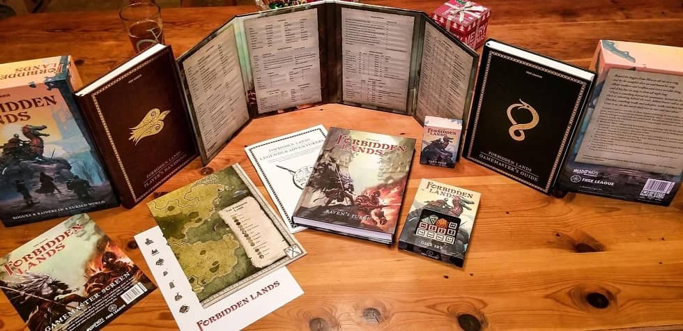 Forbidden Lands Modiphius complete set-small