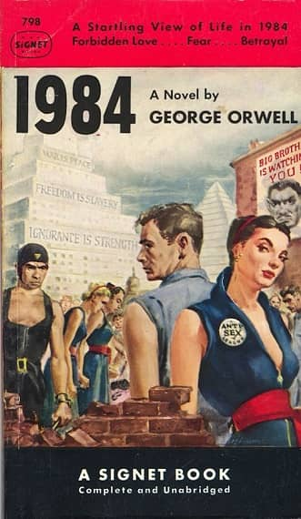 George Orwell 1984-small