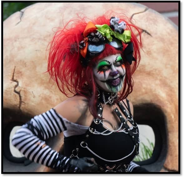Goth Chick Midwest Haunters Convention Pre-convention Haunted Bus Tour 7