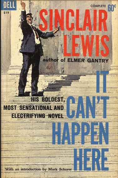 It Can't Happen Here Sinclair Lewis-small