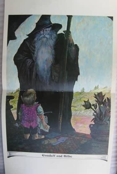 J.R.R. Tolkien Calendar 1975 Tim Kirk