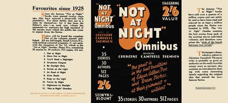 Not at Night Omnibus