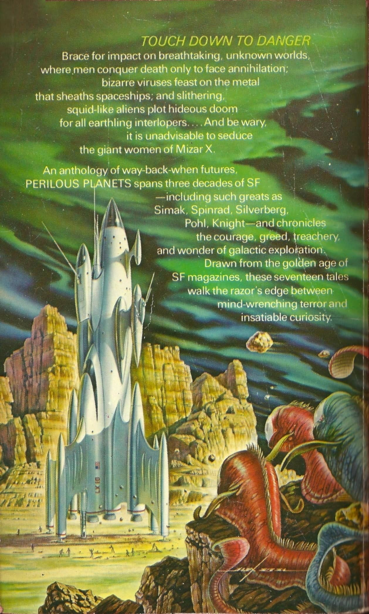 Vintage Treasures: Perilous Planets, edited by Brian Aldiss