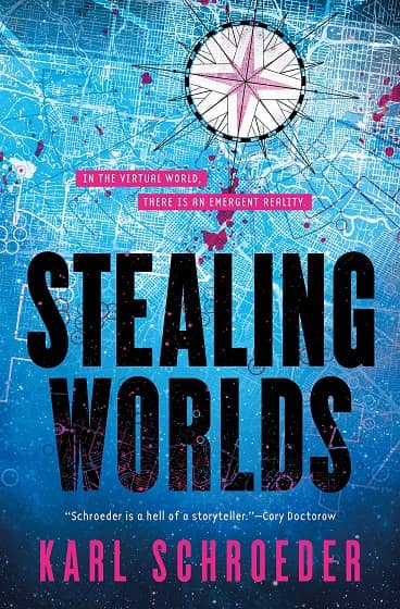 Stealing Worlds Karl Schroeder-small