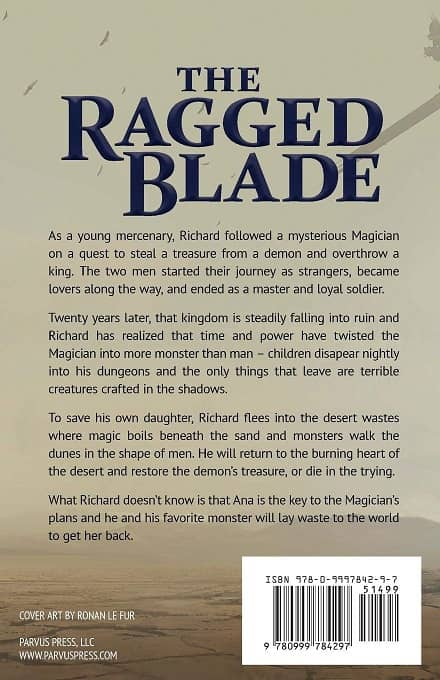 The Ragged Blade-back-small