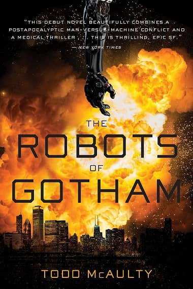 The Robots of Gotham paperback-small