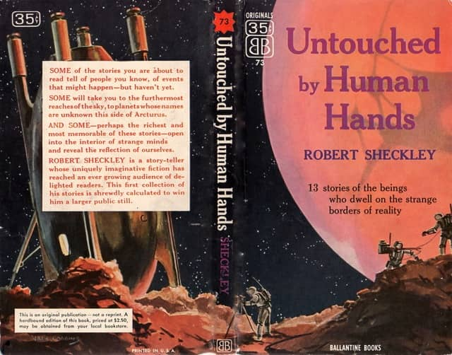 Untouched by Human Hands Robert Sheckley