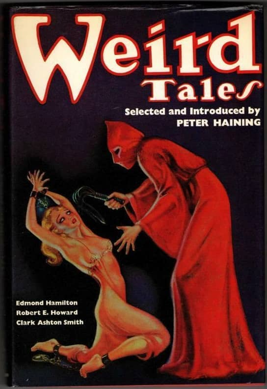 Weird Tales Peter Haining hardcover-small