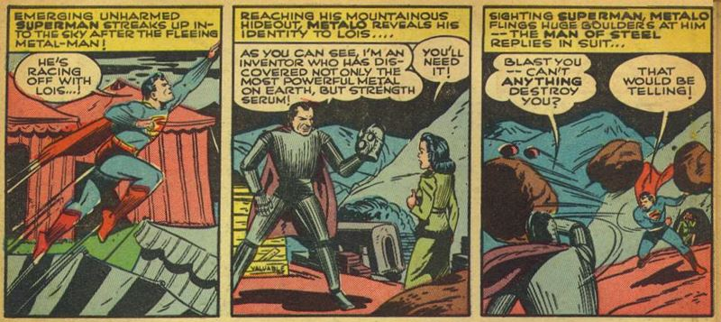 World's Finest Comics #6, Summer 1942, p13 Metalo