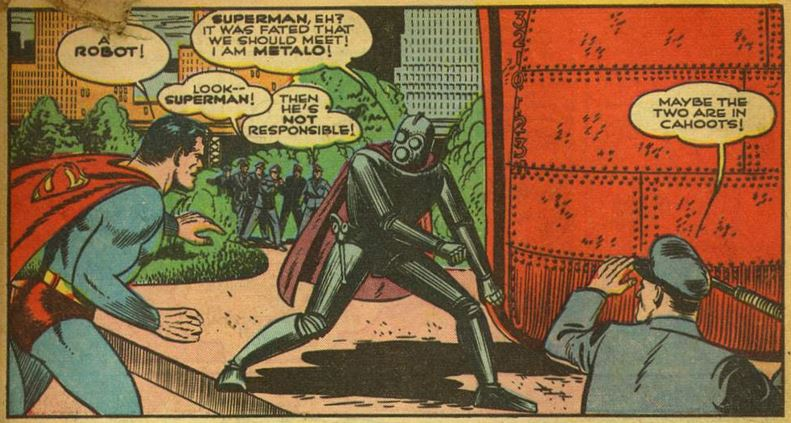 World's Finest Comics #6, Summer 1942, p6 Metalo